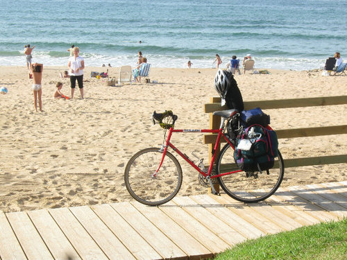bike-at-beach